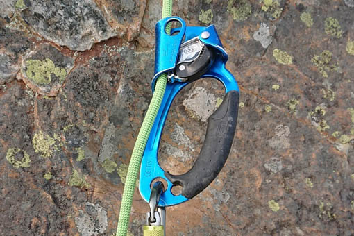 A small image of a rope ascender