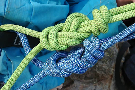 A small image of some climbing knots