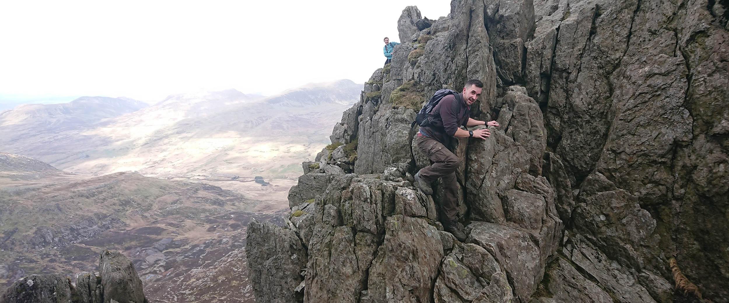 A Scrambler on the Bristly Ridge